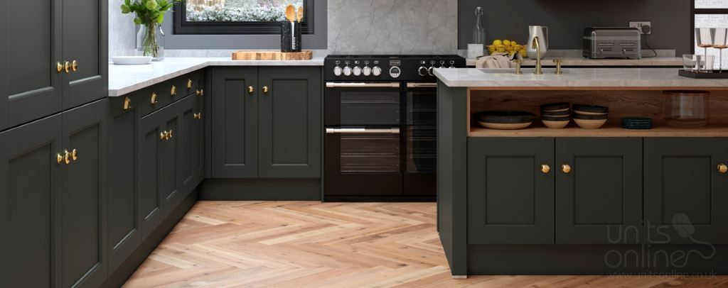 Allestree shaker kitchens from Multiwood