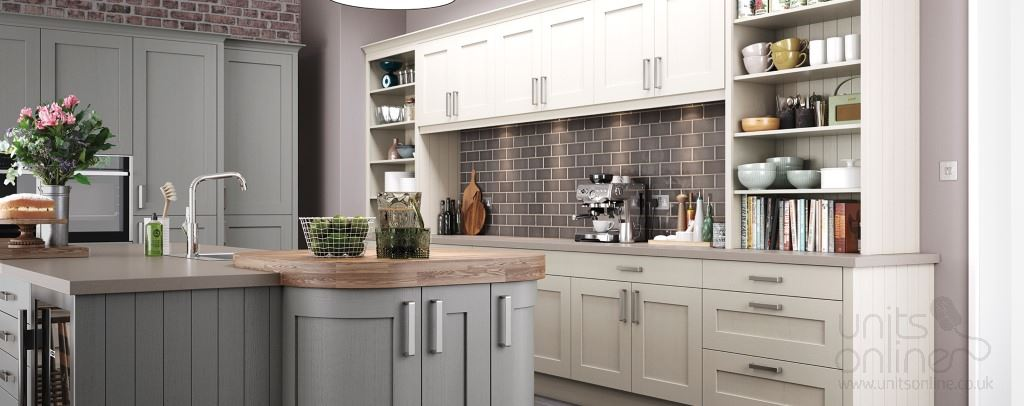 Barnes shaker kitchens from Burbidge