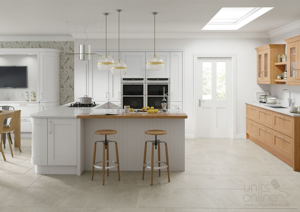 Cambridge shaker kitchens from TKComponents