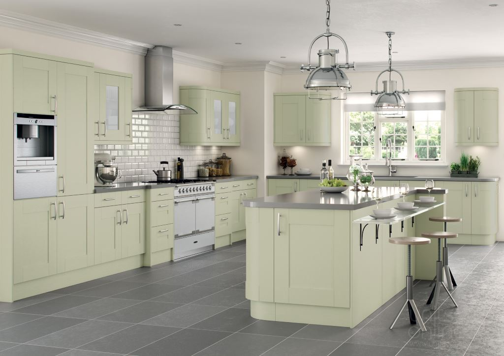 Cartmel shaker kitchens from TKComponents