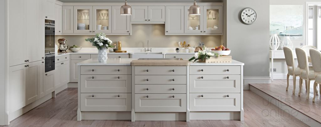 Finsbury shaker kitchens from Burbidge
