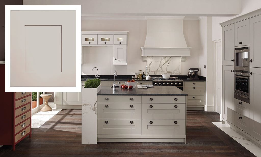 Fitzroy shaker kitchen dove grey