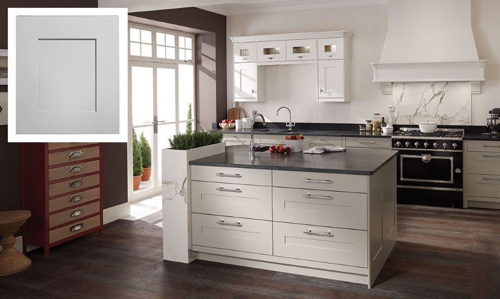 Fitzroy shaker kitchen partridge grey