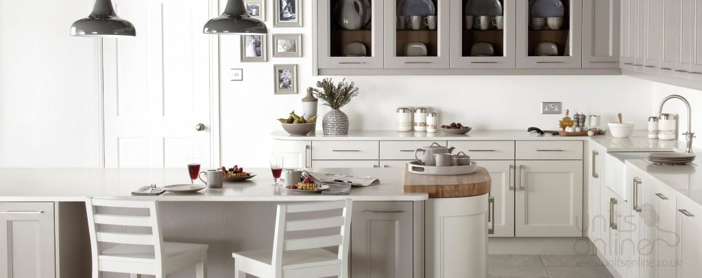 Kew shaker kitchens from Burbidge