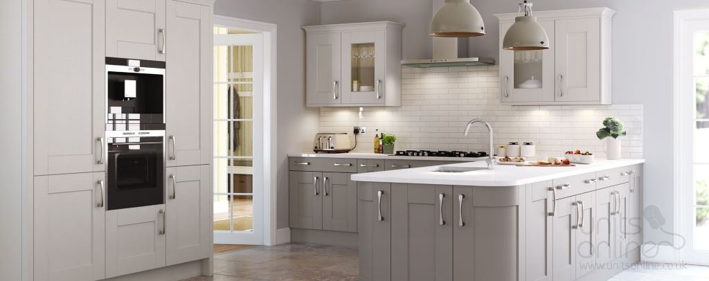 Marlow shaker kitchens from Burbidge