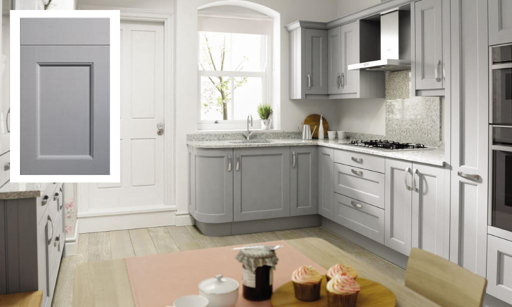 Mornington Beaded shaker kitchen partridge grey