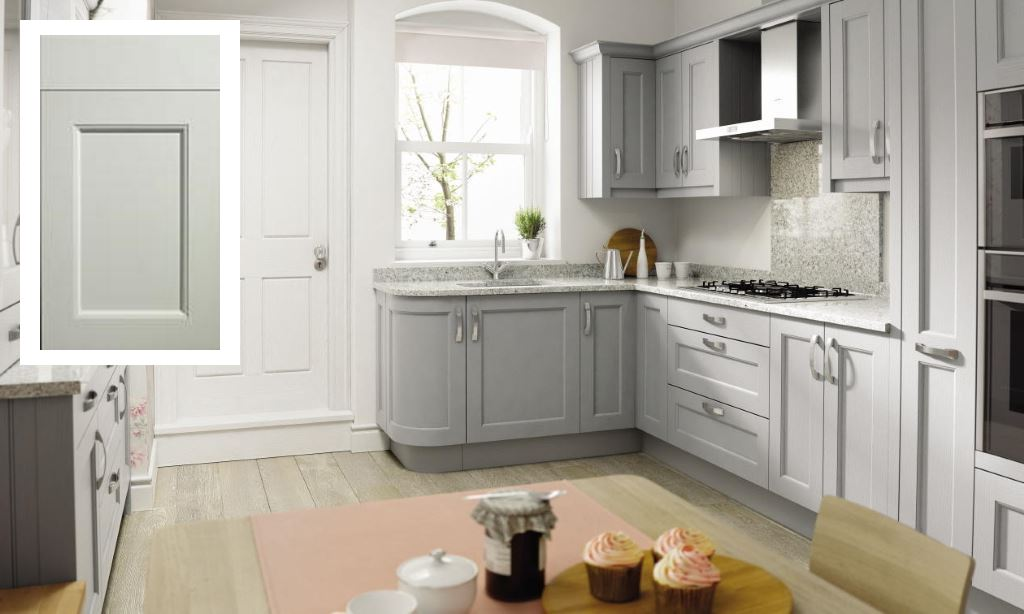 Mornington Beaded shaker kitchen porcelain