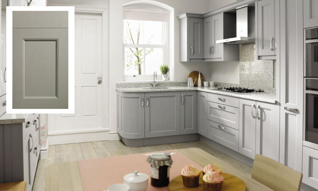 Mornington Beaded shaker kitchen stone