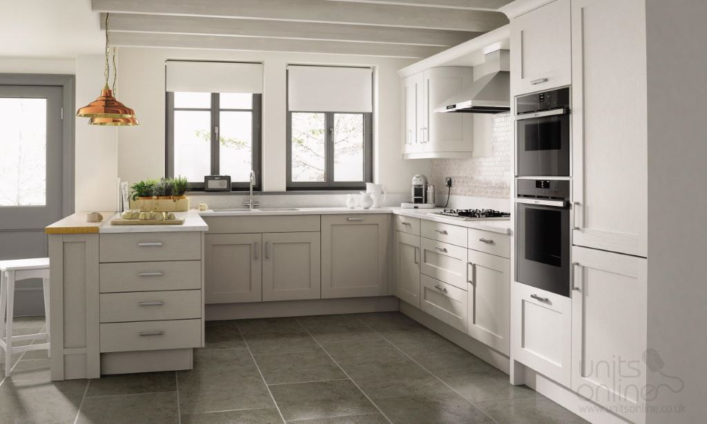 Mornington shaker kitchens from Second Nature
