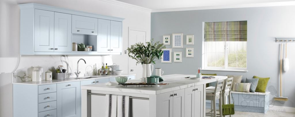 Stowe shaker kitchens from Burbidge