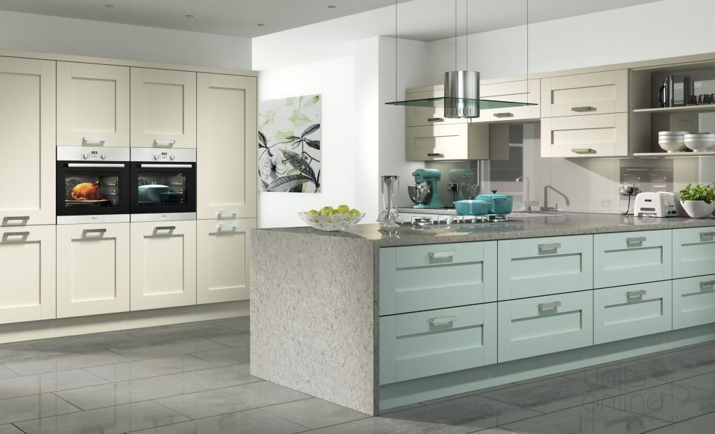 Windsor shaker kitchens from Kitchen Stori/Uform