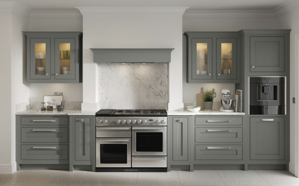 Clarendon painted inframe kitchen