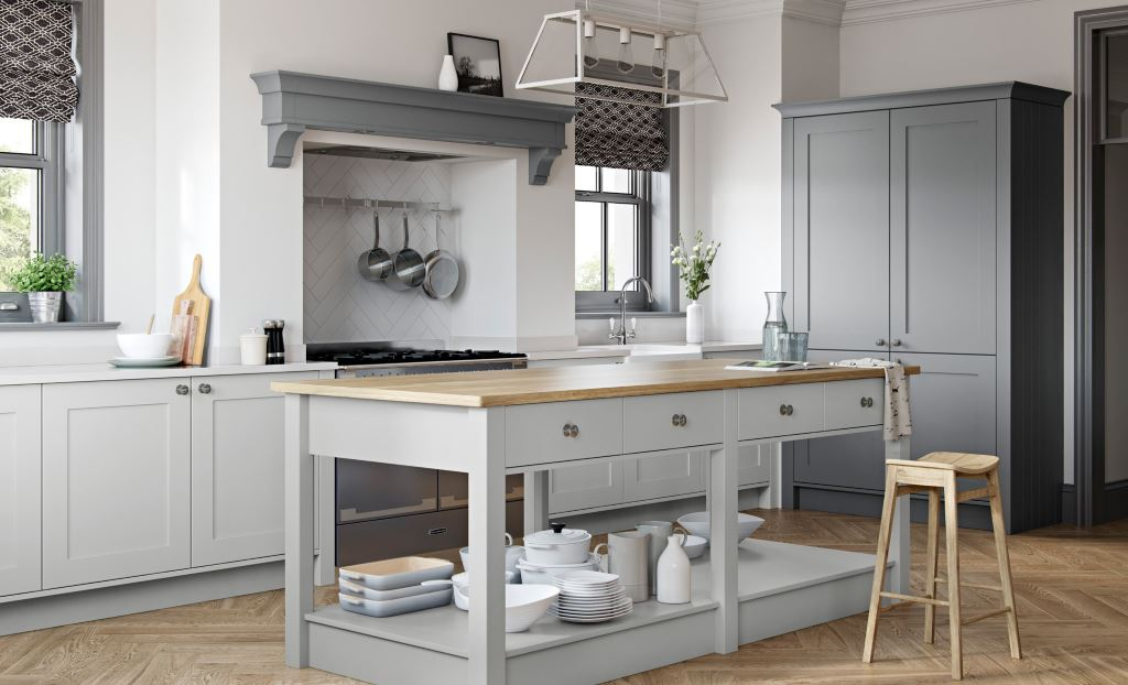 Kitchen Stori / Uform Georgia shaker dust grey