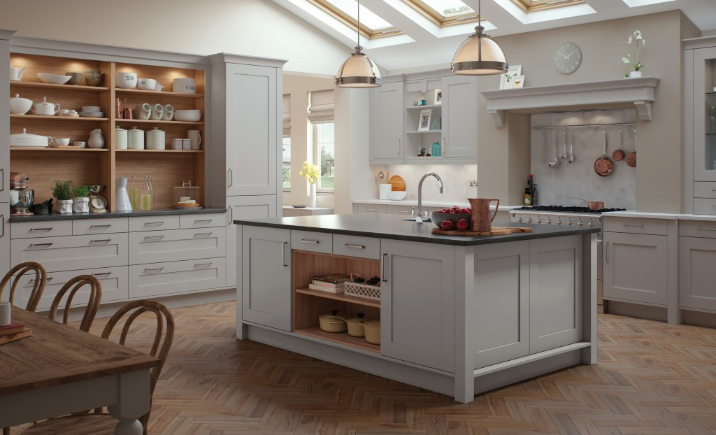 Kitchen Stori / Uform Georgia shaker light grey