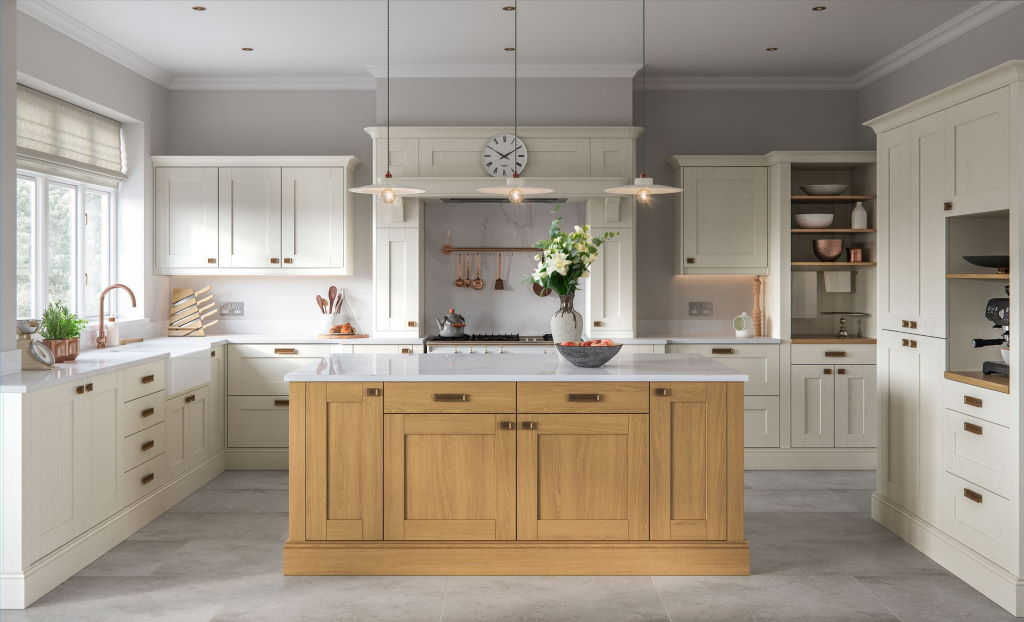 Kitchen Stori / Uform Madison shaker ivory