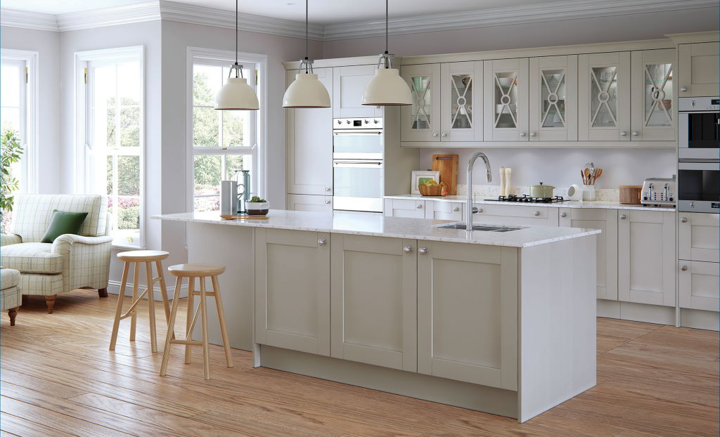 Kitchen Stori / Uform Madison shaker light grey