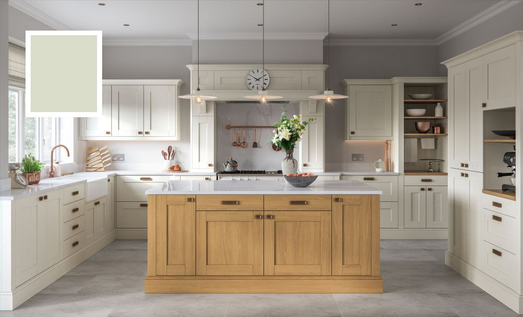Kitchen Stori / Uform Madison shaker sage green