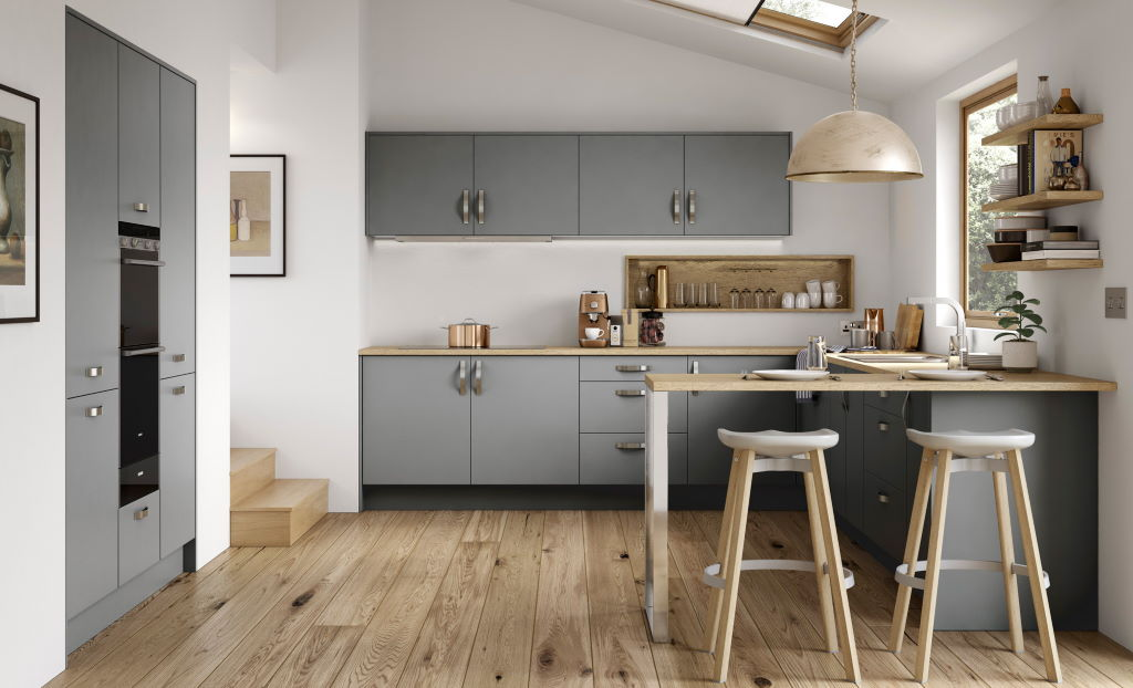 Kitchen Stori / Uform Zola soft matte dust grey