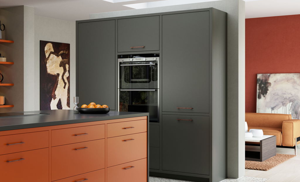 Kitchen Stori / Uform Zola soft matte graphite