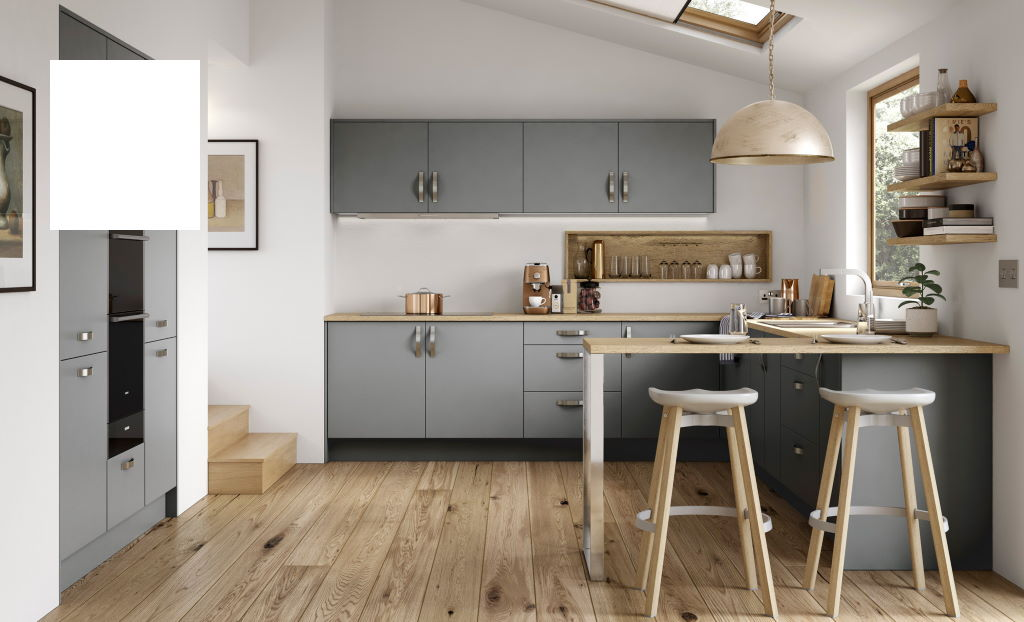 Kitchen Stori / Uform Zola soft matte white