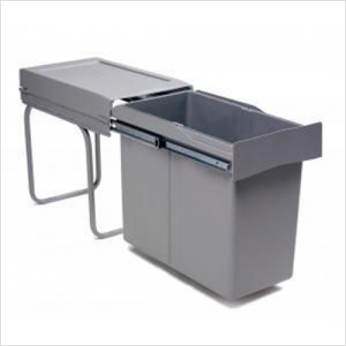 Fitted Bins - Pull-Out Waste Bin, 30 Litre, Full Extension Runners