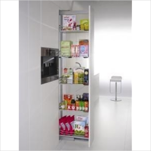 Kessebohmer - Arena Classic 500mm Full Ext'n Larder Unit, 1800-2200mm High
