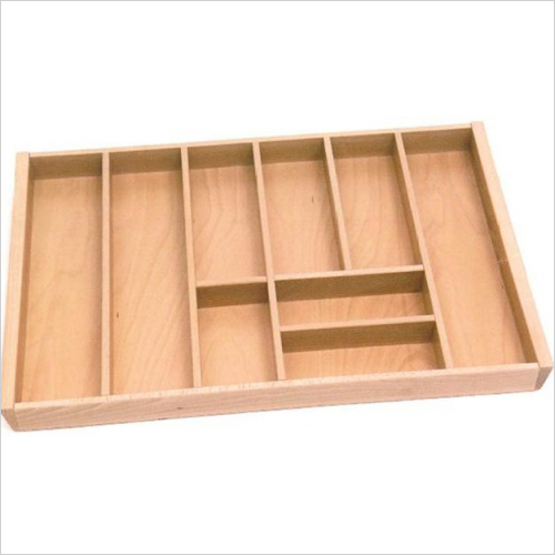 Beech - 800mm Beech Cutlery Tray