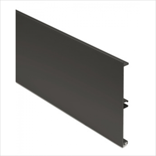 Units Online - Plinth Panel 145 x 3000mm Alu