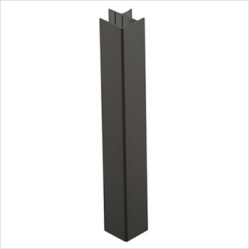 Units Online - Plinth 90D Conn/End 146mm